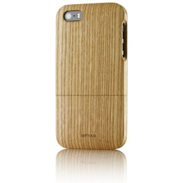 iPhone 5s Housse de Protection en Bois d'Orme
