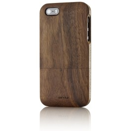 iPhone 5s Holz-Cover Nussbaum