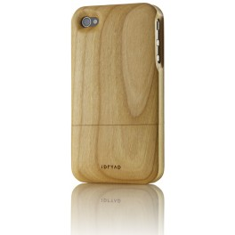 iPhone 4/4S Housse de Protection en Bois de Cerisier