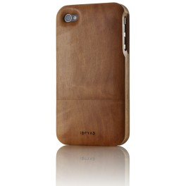 iPhone 4/4S Holz-Cover Birnbaum