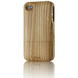 iPhone 4/4S Housse de Protection en Bois d'Orme