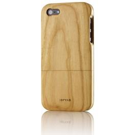 iPhone 5 Housse de Protection en Bois de Cerisier