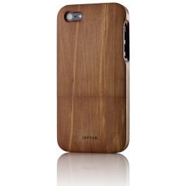 iPhone 5 Housse de Protection en Bois de Poirier