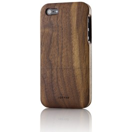 Solid wood case for iPhone 5: Walnut